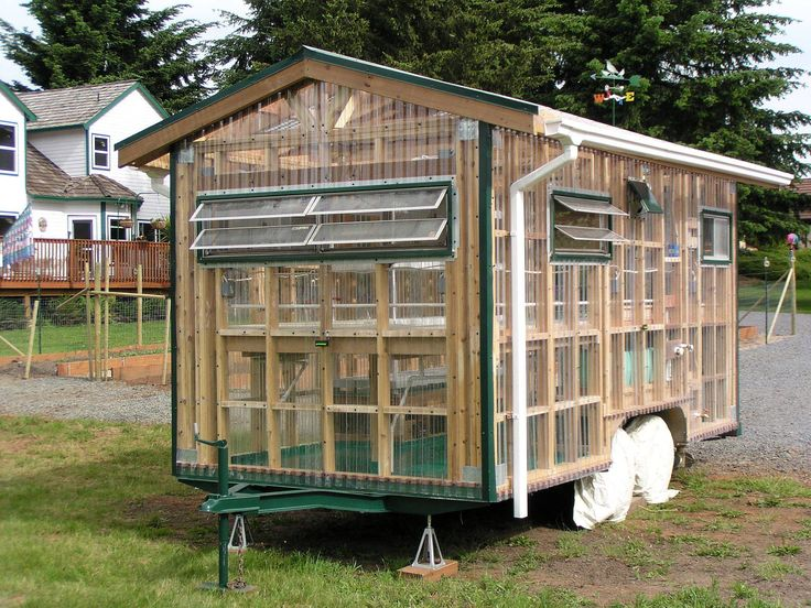 flat bed greenhouse